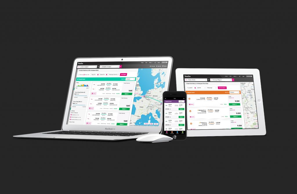 Unified bookings on desktop, tablet and mobile