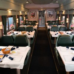 Amtrak Silver Meteor Heritage dining car