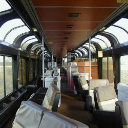 Inside Amtrak's Superliner Upper Deck Seating