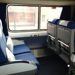 Inside Amtrak's Superliner Coach Class
