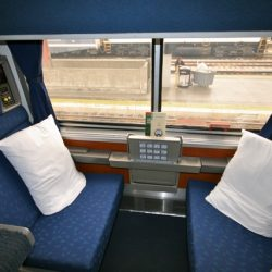 Inside Amtrak's Superliner Roomette