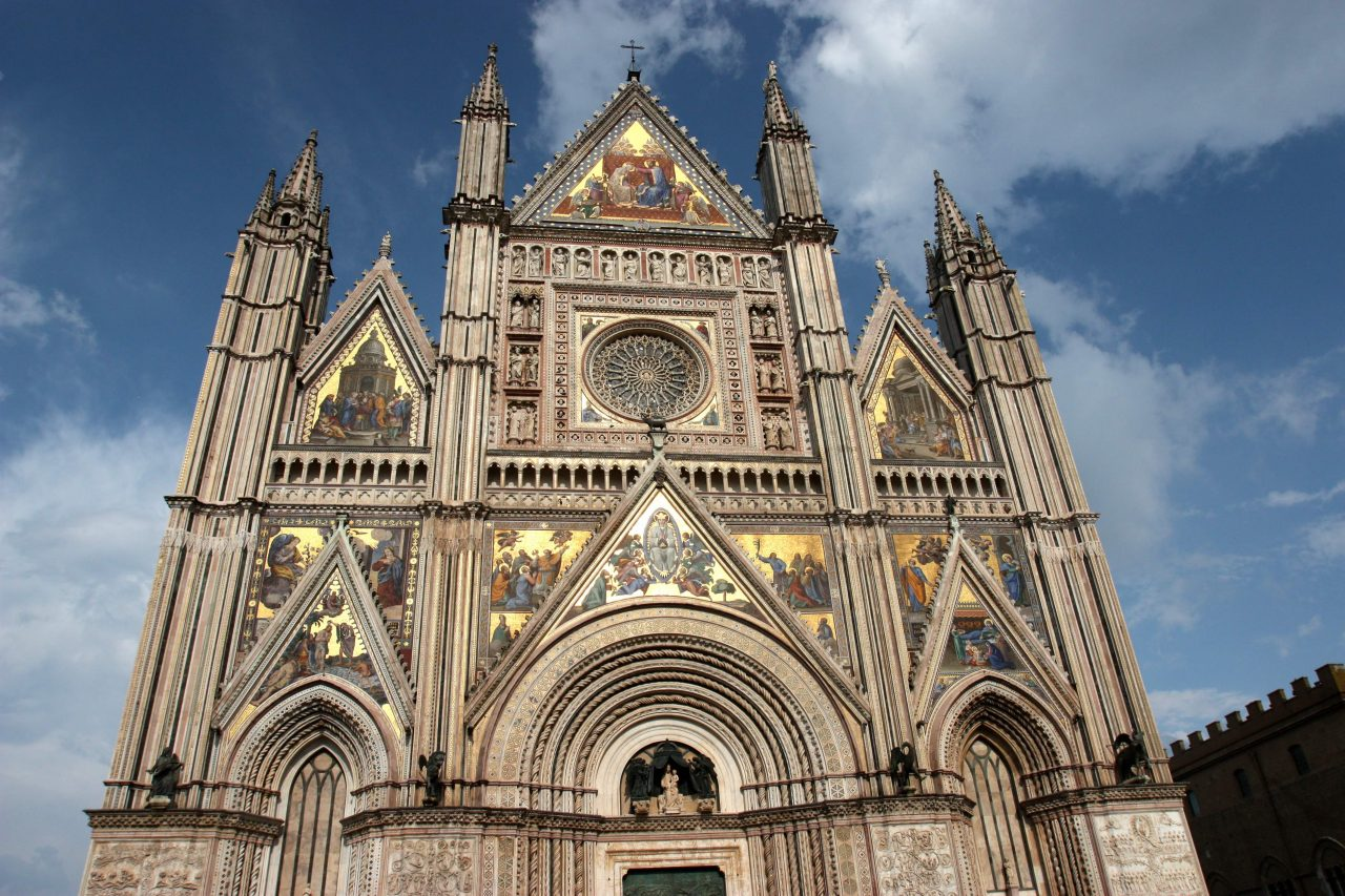 Orvieto cathedral Italy