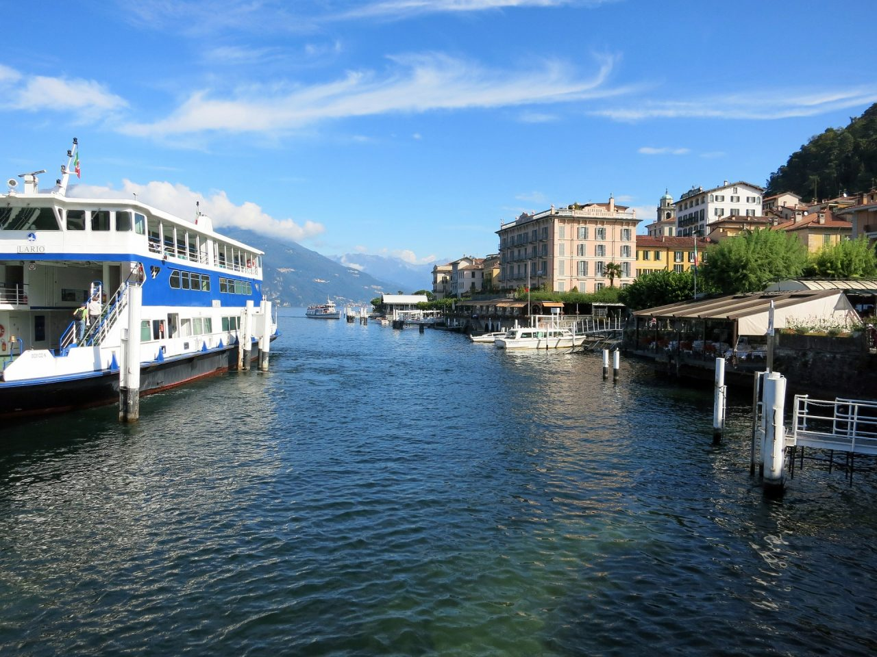 ferry around Italian Lakes
