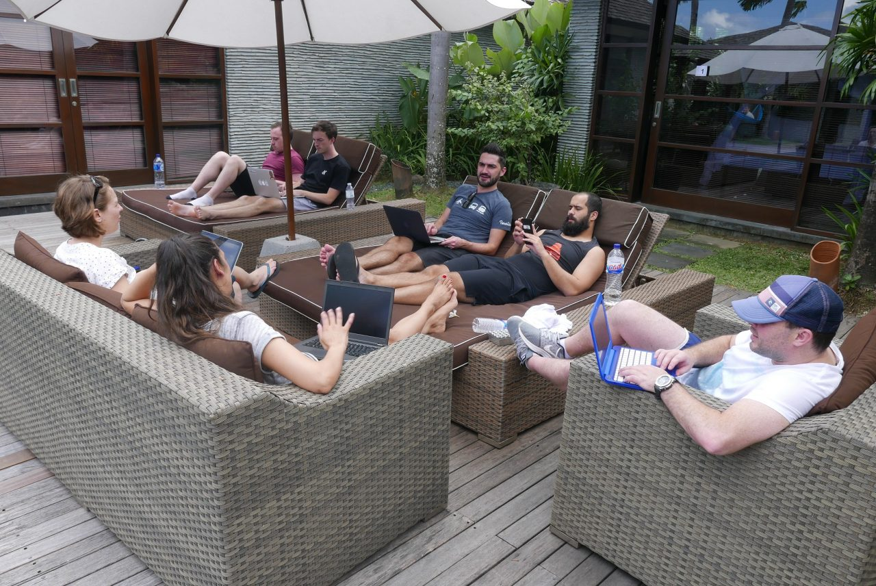 Relevance testing around the pool