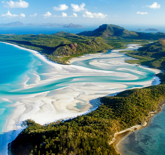Whitehaven Beach Whitsundays Australia
