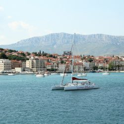 Catamaran ferries in Split