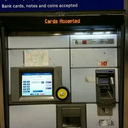 London Underground Ticket Machine