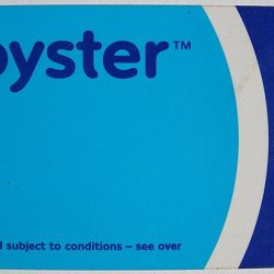 Oyster card London Underground ticket