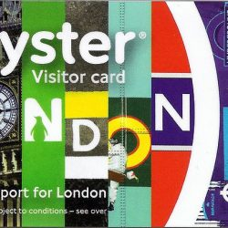 London Underground Visitor Oyster Card