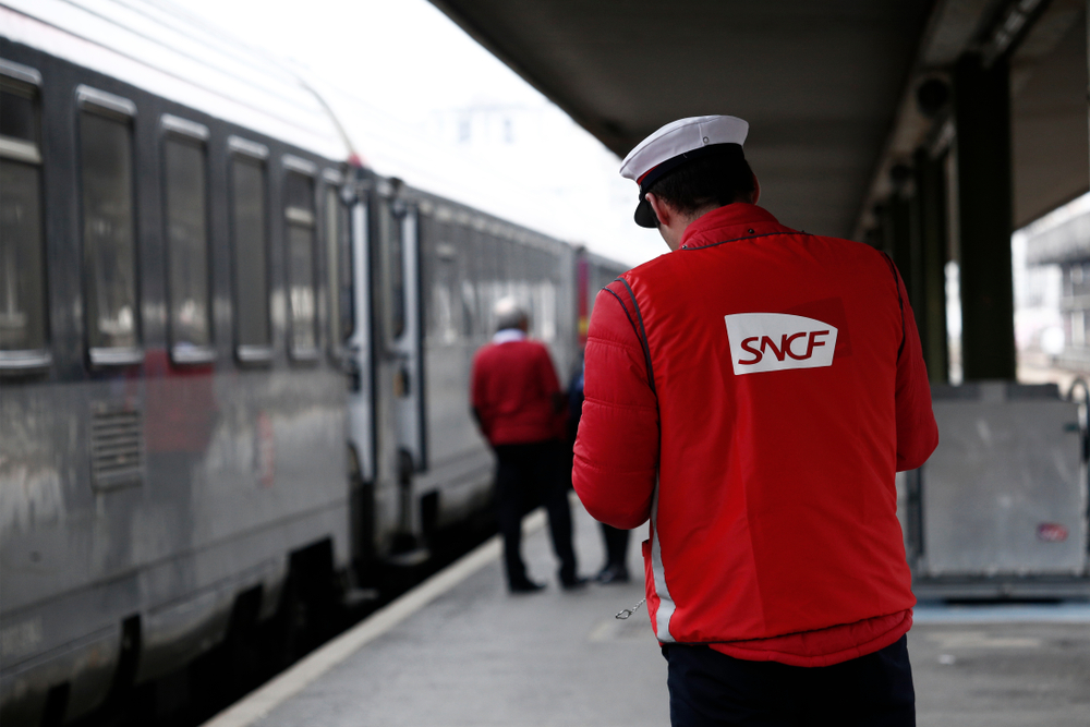 SNCF train strike 2018