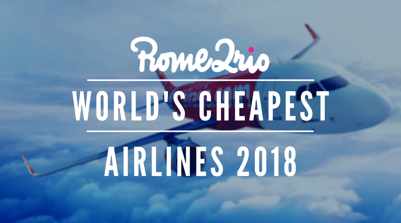 The world's cheapest airlines 2018